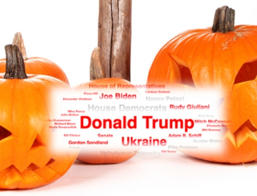 "Science4Data on LinkedIn: ""#TrickorTreat Sentiment WordCloud! We analyzed over 500 Media Articles on the topic of #Trump #Impeachment and have found exciting insights here! https://loom.ly/M_C1sb4 """
