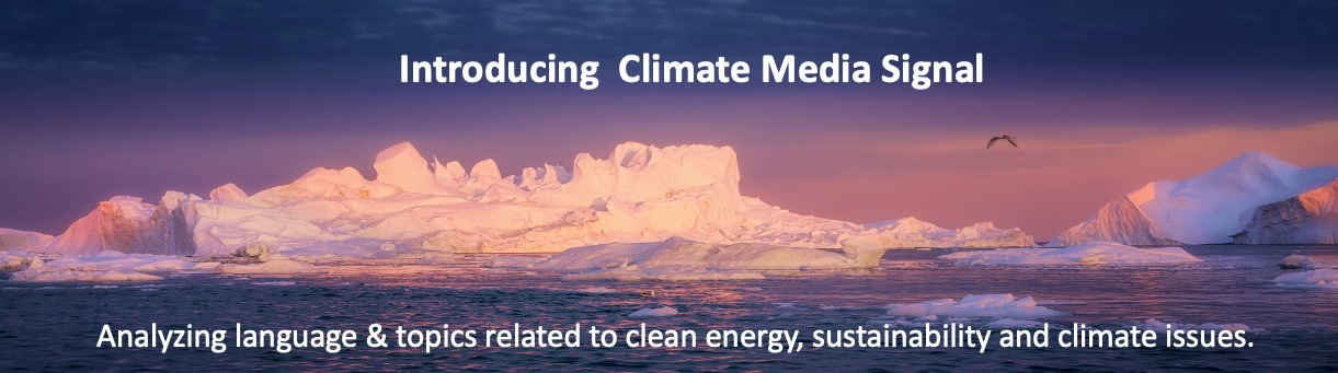 Climate Media Signal
